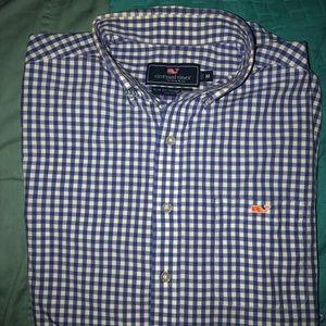 Vineyard Vines Slim-Fit Tucker Shirt, Size Medium